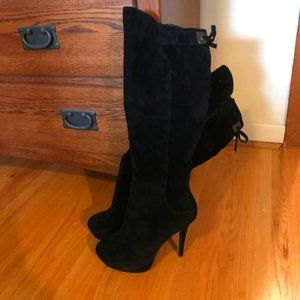 Black Knee-High Boots - Size 9 NWT